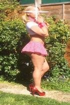 Schoolgirl Escort Blonde Slim Busty