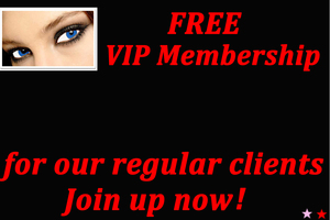 Free VIP membership for our regular clients